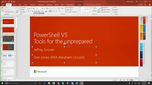 Explore PowerShell unplugged with Jeffrey Snover & Don Jones