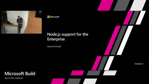 Using Node.js to Build for the Enterprise