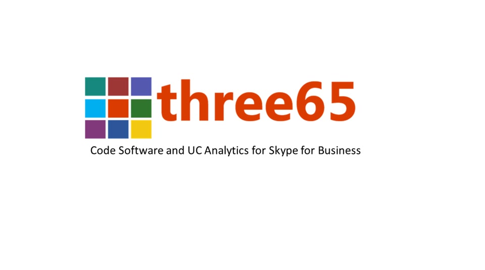 Three65 - Skype for Business - Code Software