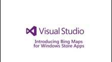 Introducing Bing Maps for Windows Store Apps
