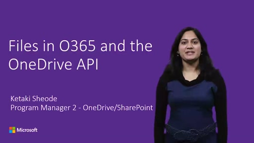 OneDrive Extensibility to access files in Office 365, OneDrive and SharePoint