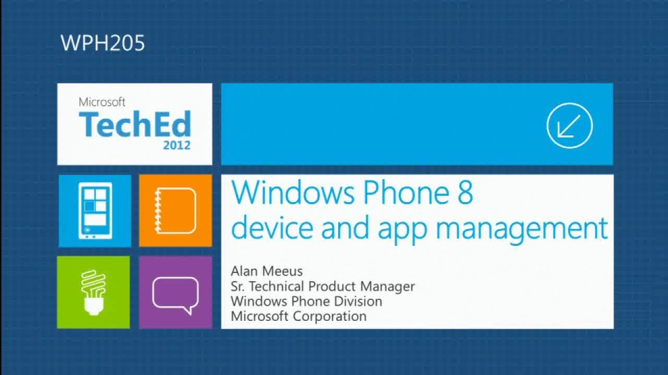 Windows Phone: Device and App Management
