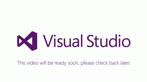 Visual Studio - Coming Soon Video
