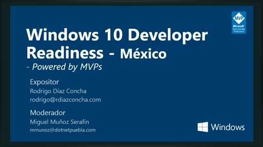 Windows 10 Developer Readiness [Mexico]