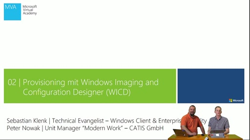 02 | Provisioning mit dem Windows Imaging and Configuration Designer