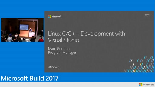 Linux C++ development with Visual Studio 2017