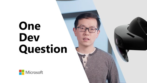 What should developers know about HoloLens 2? | One Dev Question