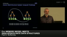 C++ Memory Model Meets High-Update-Rate Data Structures