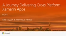 A Journey Delivering Cross Platform Xamarin Apps