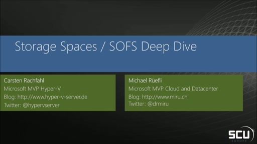 Storage Spaces - Scale-out file server deep dive