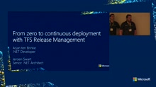 From zero to continuous deployment with TFS Release Management