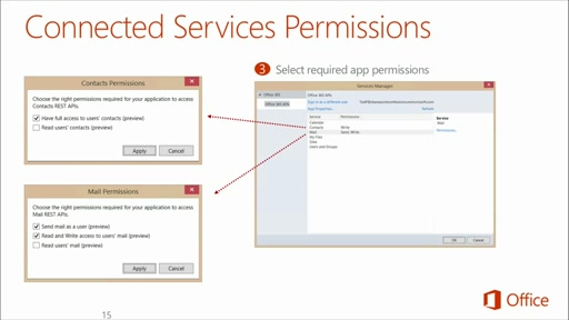 Deep Dive: Integrate Office 365 APIs in Your Web Apps: (02) Deep Dive into Office 365 APIs for Calendar, Mail, and Contacts Services