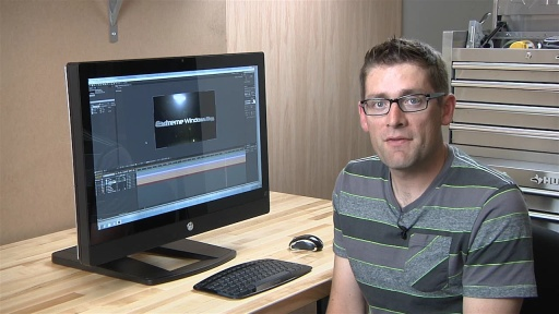 HP Z1 All-In-One Workstation PC and Adobe After Effects CS6
