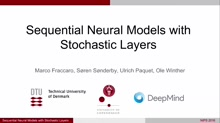 Sequential Neural Models with Stochastic Layers