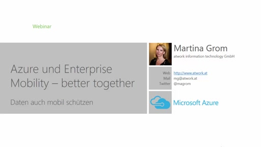 Azure und Enterprise Mobility better together
