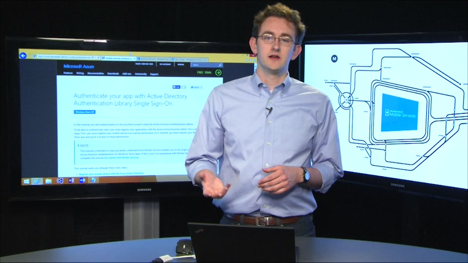 Enable Single Sign-on for your .NET Mobile Services with Azure Active Directory