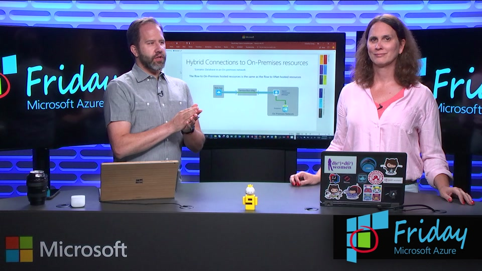 Azure App Service with Hybrid Connections to On-premises Resources