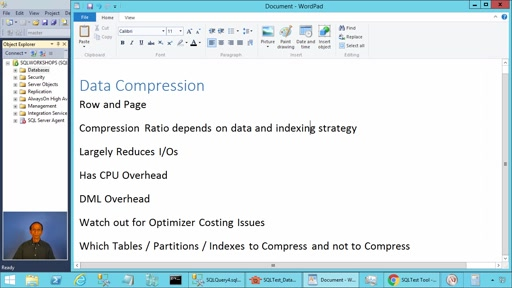 Data Compression in SQL Server - Pros and Cons