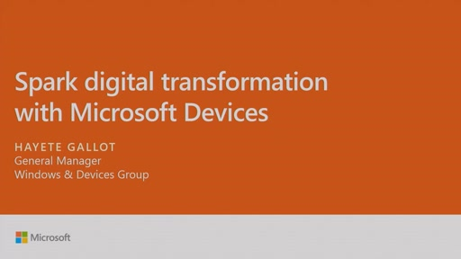 Spark digital transformation with Microsoft devices