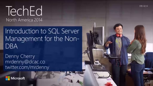 Introduction to SQL Server Management for the Non-DBA