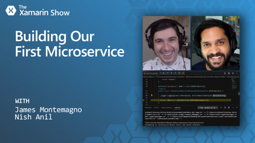 Building Our First Microservice | The Xamarin Show