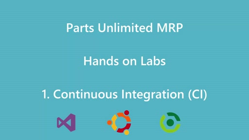 Parts Unlimited MRP - HOL Continuous Integration