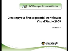 endpoint.tv Screencast - Creating Your First Sequential Workflow