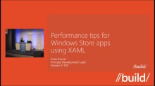 Performance tips for Windows Store apps using XAML