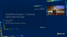 SharePoint Futures – Christmas came early this year!