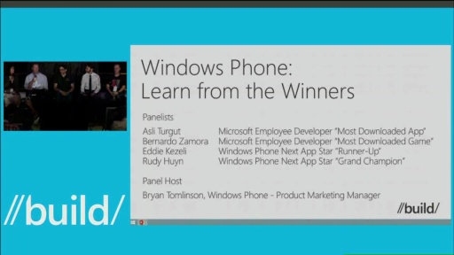 Windows Phone: Learn from the Winners