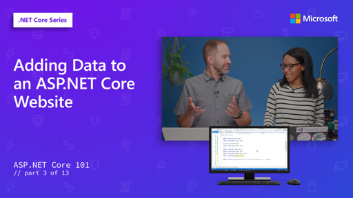 ASP.NET - Adding Data to an ASP.NET Core Website [3 of 13]