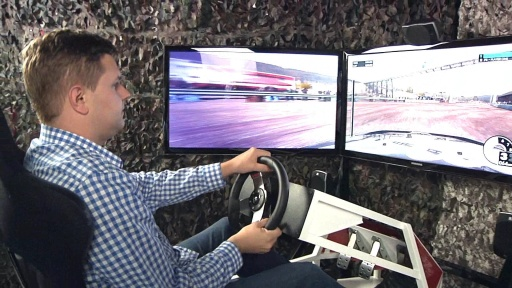 Project E.B.T.R. Racing Simulator Moves You – Literally