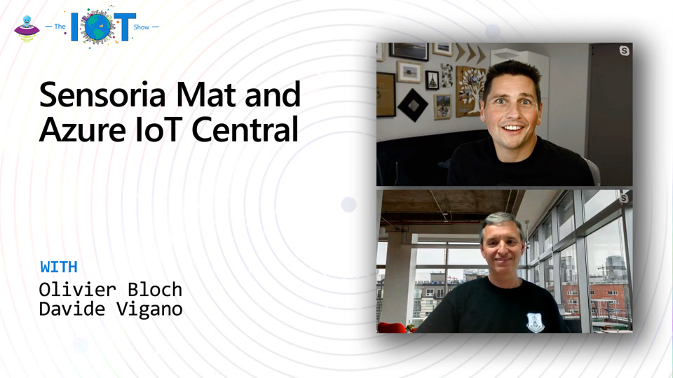 Sensoria Mat and Azure IoT Central