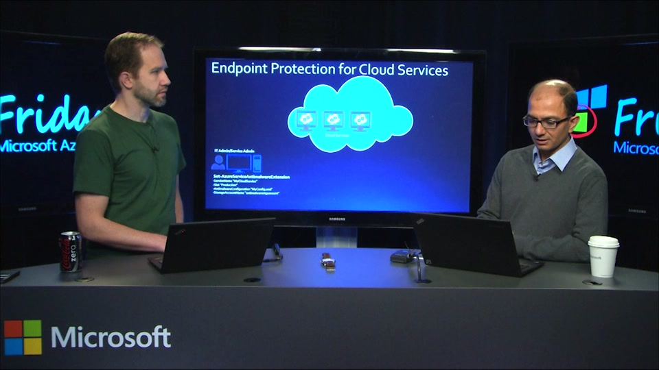 Microsoft Endpoint Protection for Azure
