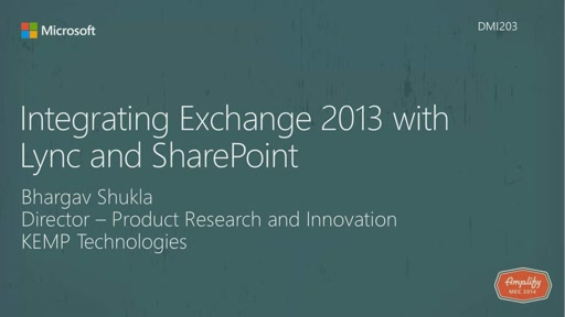 Integrating Exchange 2013 with Lync and SharePoint
