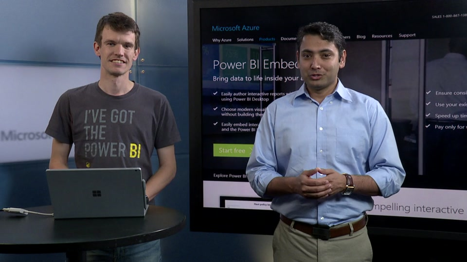 Building effective Power BI reports for your app