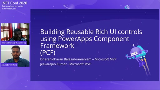 Building Reusable Rich UI controls using PowerApps Component Framework (PCF)