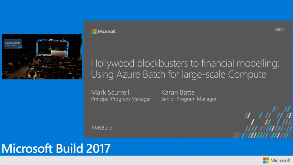 Hollywood blockbusters to financial modelling: Using Azure Batch for large-scale Compute