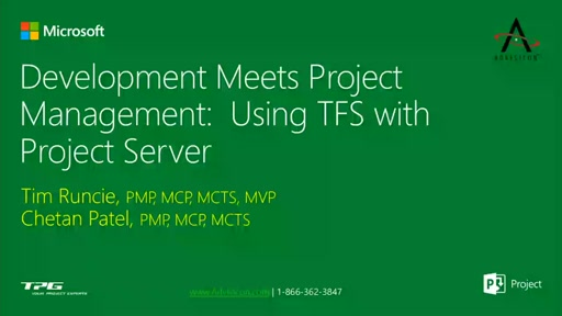 Development World Meets Project Management.  Leveraging Project Server with Team Foundation Server