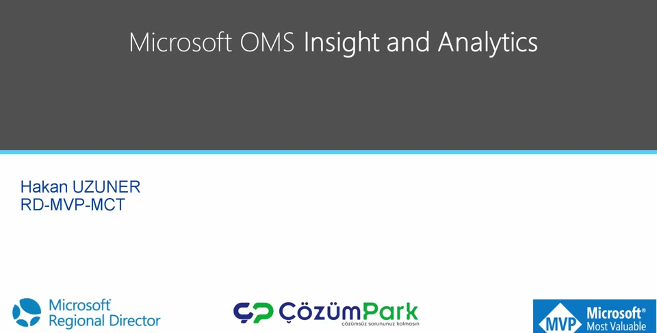 Operations Management Suite—Insight & Analytics
