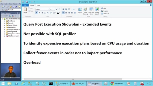 Extended Event Query Post Execution Showplan in SQL Server
