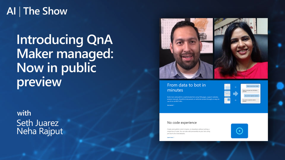 Introducing QnA managed: Now in Public Preview