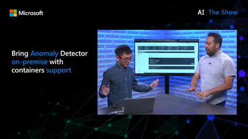 Bring Anomaly Detector on-premises with containers support