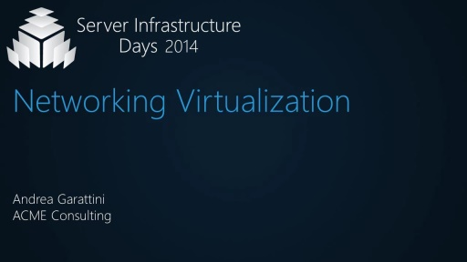 Networking Virtualization - VT06