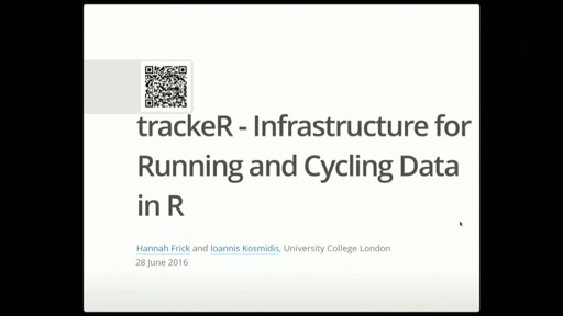 trackeR: Intrastructure for running and cycling data from GPS-enabled tracking devices in R