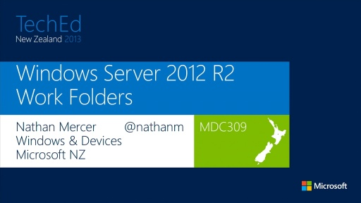 Windows Server Work Folders: My Corporate Data on All of My Devices