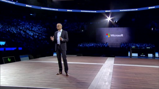 Broll: Microsoft WPC Day 1