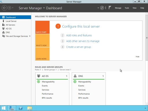 Installing WDS on Windows Server 2012R2