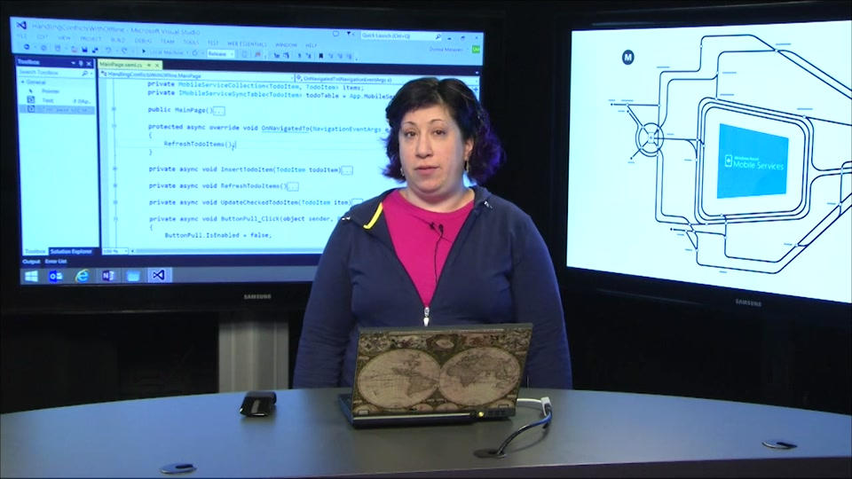 Build offline apps with Azure Mobile Services
