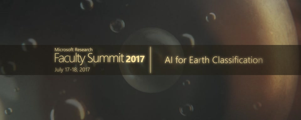 Video Abstract: AI for Earth Classification